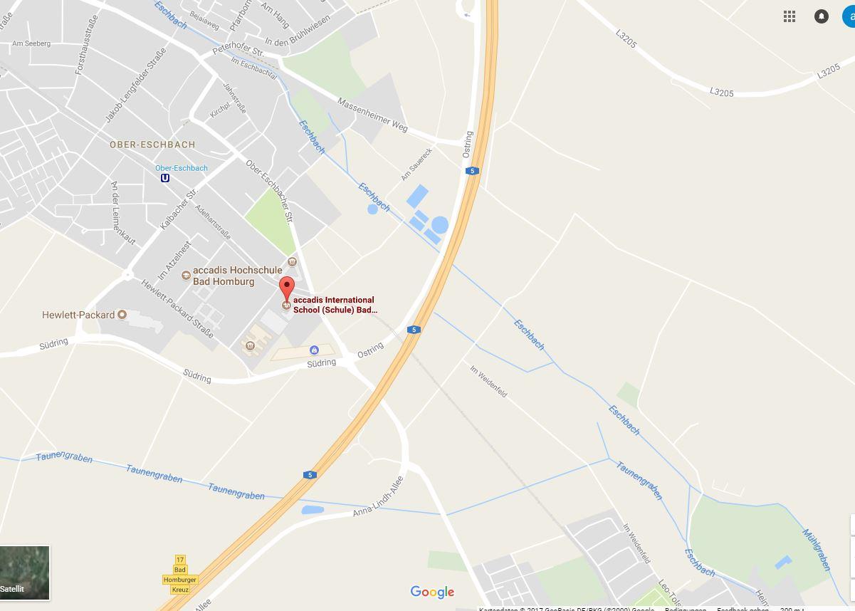 Bad Homburg Germany Map.German Speaking Primary School Teacher Bad Homburg Germany Tes Jobs